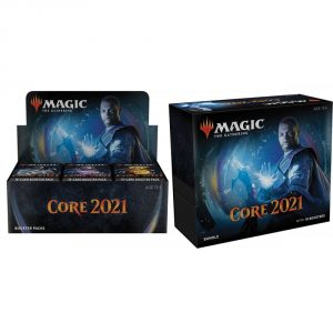 Core 2021 Booster box and Bundle Combo